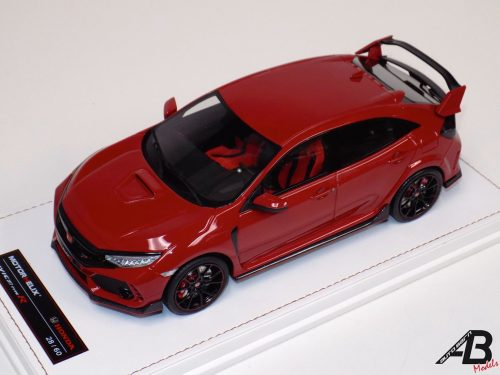 HONDA CIVIC 2017 TYPE R Rally Red | MOTORHELIX | 1:18