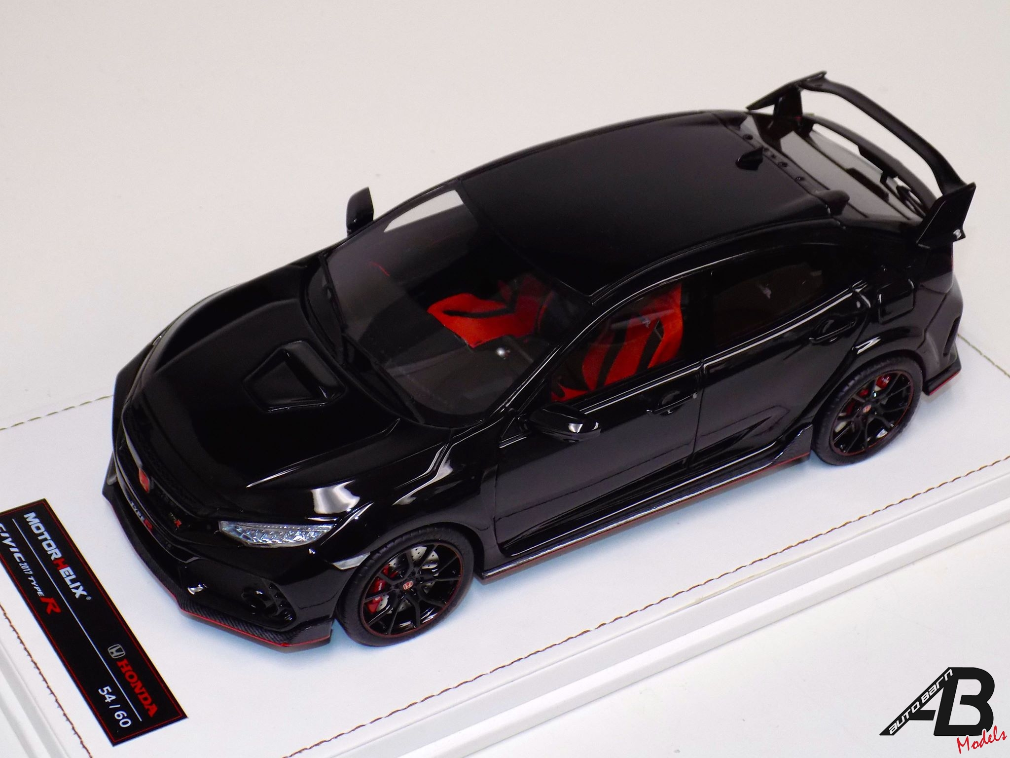 HONDA 2017 CIVIC TYPE R Gloss Black