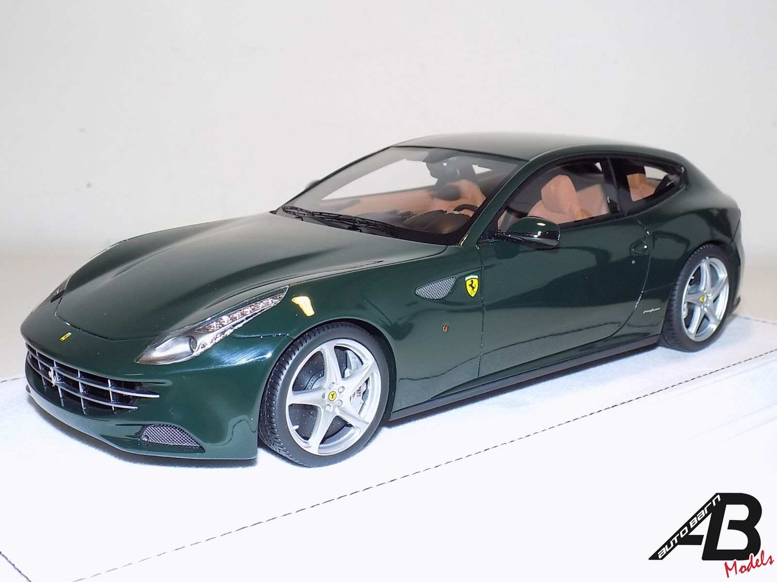 Ferrari Ff British Racing Green Alcantara Base Autobarn Model