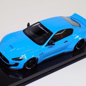Maserati Granturismo LB Performance Liberty Walk Baby Blue Carbon