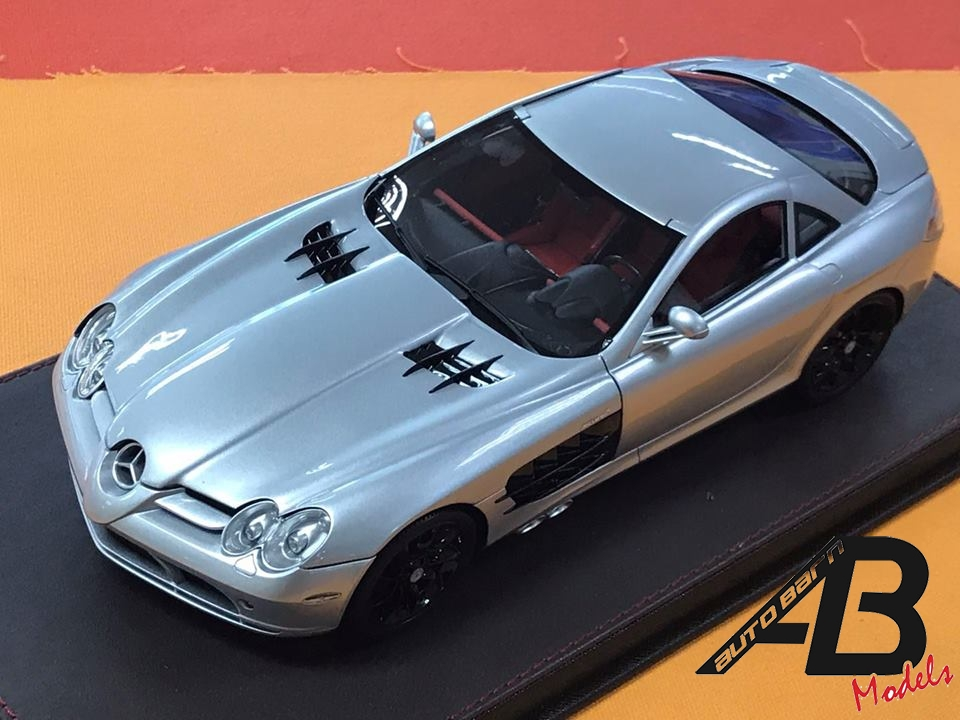 Fronti-Art News | 1:18 Mercedes Benz SLR McLaren