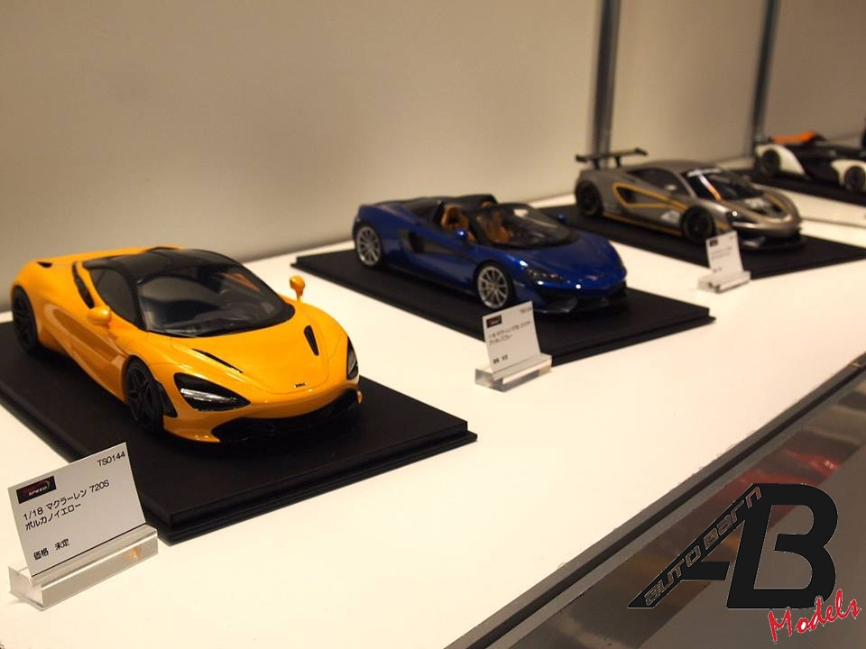 New 1/18 modelcars by Many brands in Shizuoka hobby show 2018