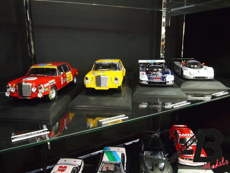New 1/18 modelcars by Kyosho and Minichamps in Shizuoka hobby show