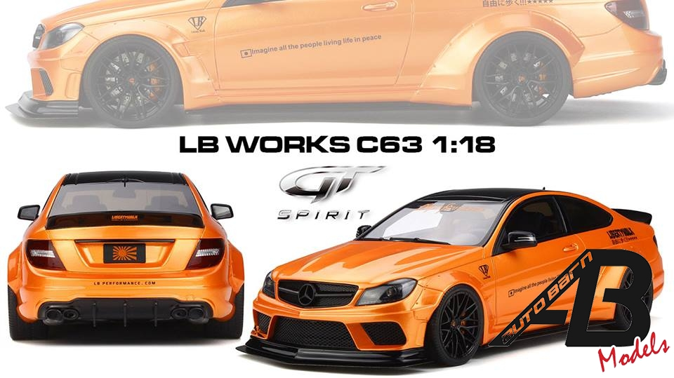 GT Spirit News | 1:18 Mercedes Benz C63 LB Works Orange