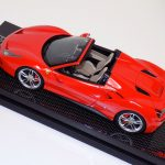 Ferrari 488 Spider Rosso Red Dino on Carbon Base-c