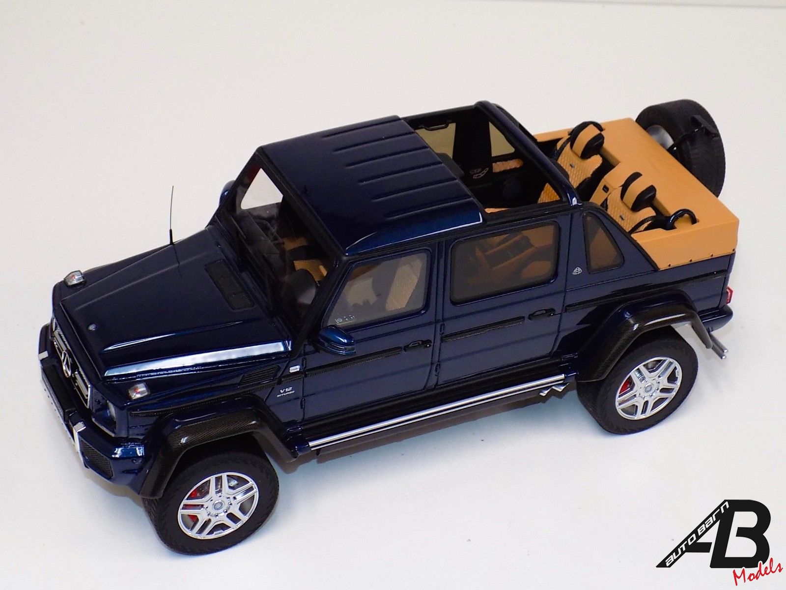 1:18 GT Spirit Mercedes Benz Maybach G650 LANDAULET Blue Metallic