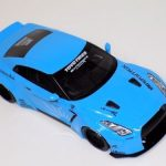 Nissan GT-R R35 LB Performance in Baby Blue KJ008-a