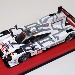 1:18 Spark Porsche 919 Hybrid #19 24 Hours LeMans 2015 Red Leather