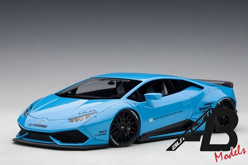 AUTOart Liberty Walk Huracan White/Metallic Sky Blue