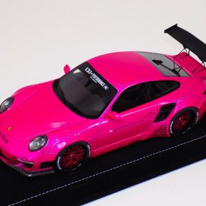 1:18 AB Models Porsche 911 LB Performance Liberty Walk Flash Pink