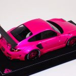 Porsche 911 LB Performance Liberty Walk in Flash Pink special Whl-b