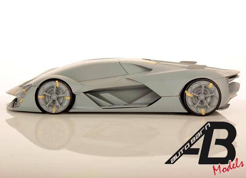 MR Collection News | First Look Lamborghini Terzo Millennio