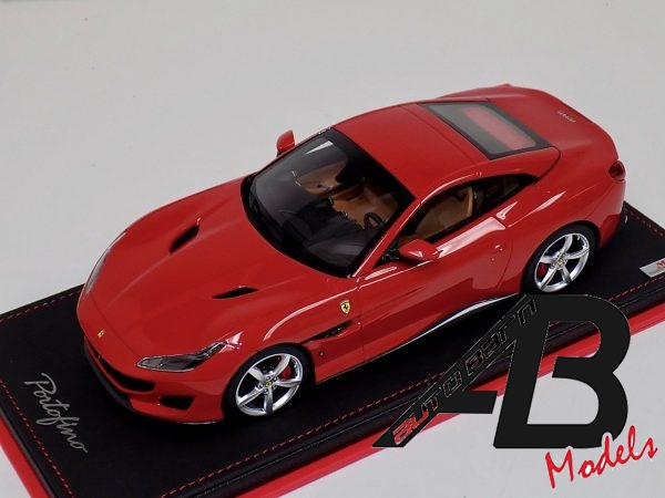 1:18 MR Collection Ferrari Portofino Hard Top Rosso Corsa Red