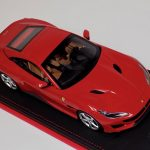 Ferrari Portofino with Hard Top Rosso Corsa Red Leather Base-a