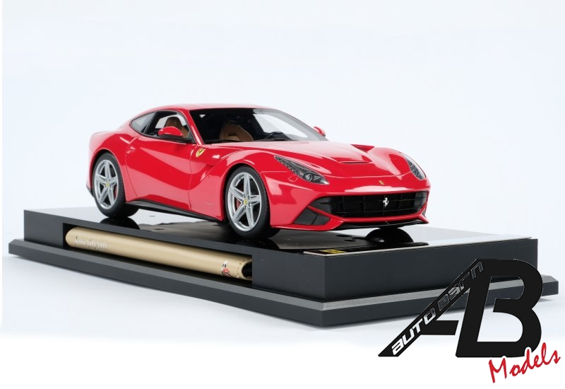 Amalgam News | New 1:8 Ferrari F12 Berlinetta Red