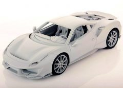 MR Collection | Pre-Production 1:18 Ferrari 488 Pista | Autobarnmodel