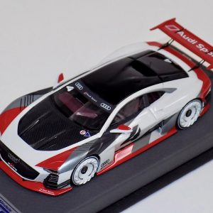 1:43 LookSmart Audi V GT Concept Grey on Leather Base