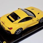 Ferrari Portofino with Hard Top Yellow Carbon Base-b