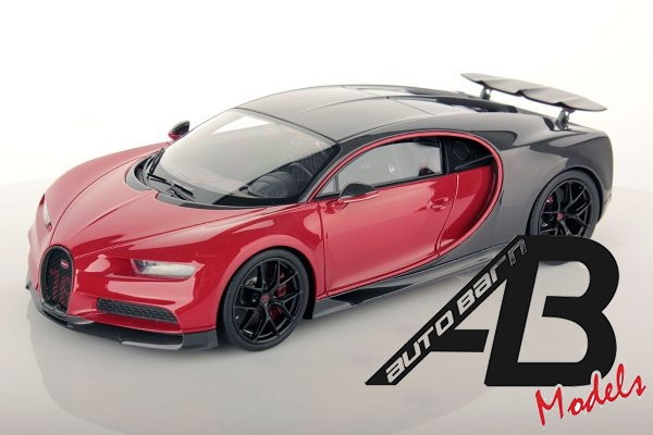 1:18 Pre-Order MR Collection Bugatti Chiron Sport with Open Wing