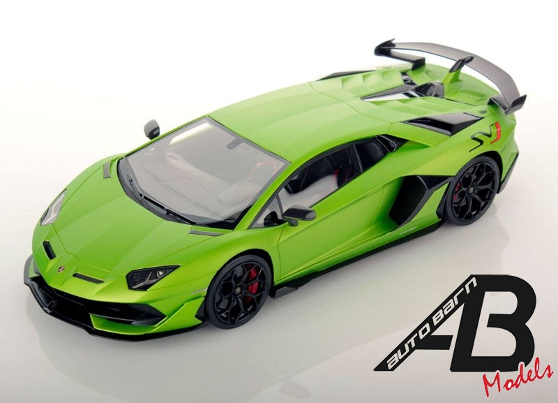 MR Collection NEWS : Lamborghini Aventador LP 770-4 SVJ