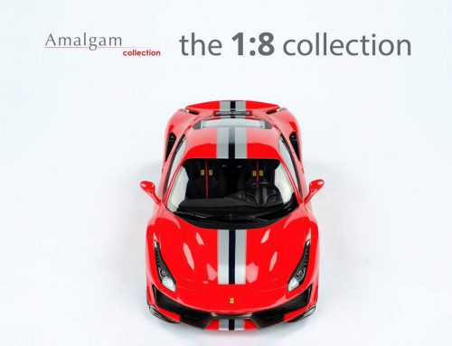 Ferrari 488 PISTA Coupe | Amalgam Collection | 1:8