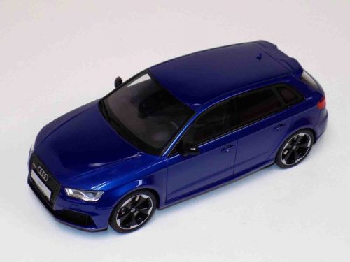 Audi RS3 2015 Metallic Blue GT748 | GT Spirit | 1:18