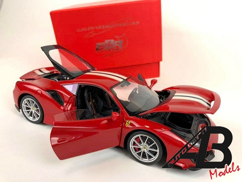 BBR News | Ferrari 488 Pista Resin With Opening Parts | 1:18