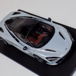 McLaren 720S Silver Resin Model Top Speed-a