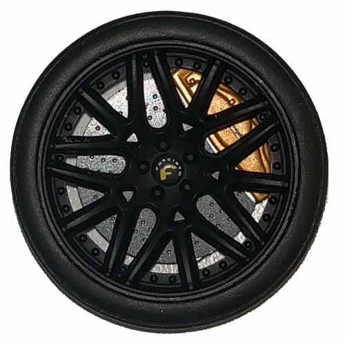 Lamborghini LB Performance Liberty Walk Wheels | GT Spirit | 1:18