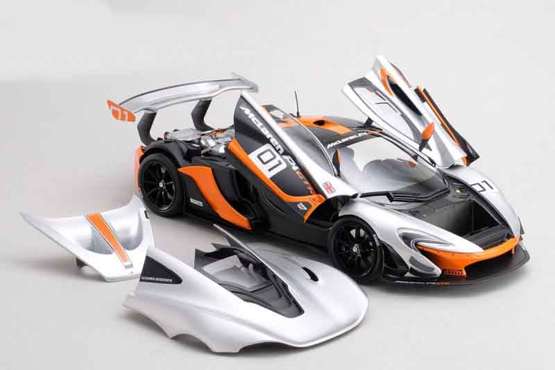 Almost Real NEWS | McLaren P1 GTR Pebble Beach California Design Concept | 1:18