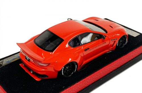 AB Models 1:43 Maserati GranTurismo Liberty Walk Gloss Red