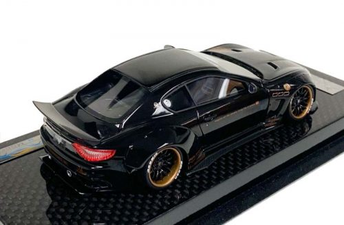 AB Models 1:43 Maserati GranTurismo Liberty Walk Gloss Black