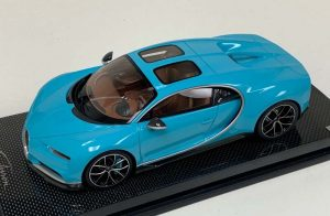 MR Collection 1:18 Bugatti Chiron Sport Edition Sky view Baby Blue
