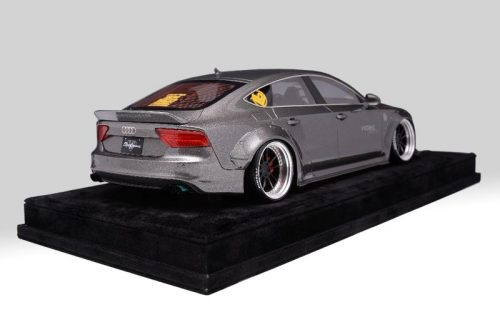 AB Models 1:18 Audi A7 Liberty Walk 2010 Grey