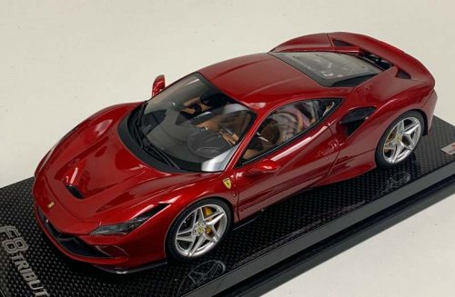 MR Collection 1:18 Ferrari F8 Tributo Coupe Russo Red Fucco