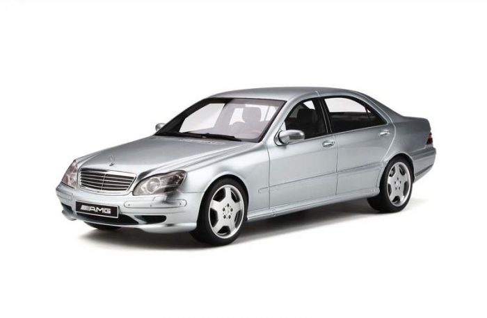 OttoMobile 1:18 Mercedes Benz S55 AMG (W220) Silver