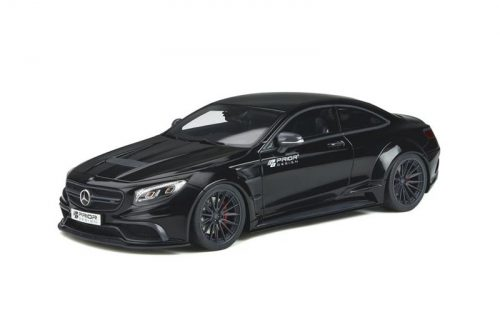 GT Spirit 1:18 Mercedes Benz S63 AMG Coupe Prior Design Black