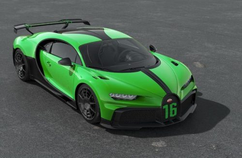 MR Collection 1:18 Bugatti Chiron Pur Sport Viper Green