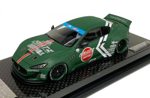 AB Models 1:43 Maserati Granturismo Liberty Walk Army Green