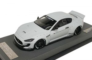 AB Models 1:43 Maserati Granturismo Liberty Walk Zero Fighter Grey