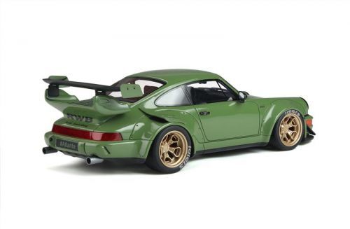 GT Spirit 1:18 Porsche 911 RWB Body Kit Green