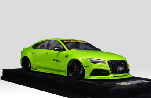 AB Models 1:18 Audi A7 Liberty Walk 2010 Green