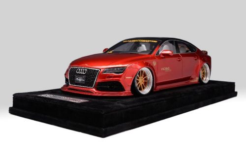 AB Models 1:18 Audi A7 Liberty Walk 2010 Red Metallic