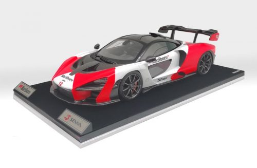 AB Models 1:18 McLaren Senna 2018 Marlboro Color Edition Version 2