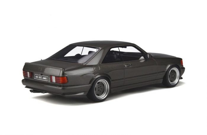 Ottomobile 1:18 Mercedes Benz 560 SEC AMG (C126) Anthracite Grey