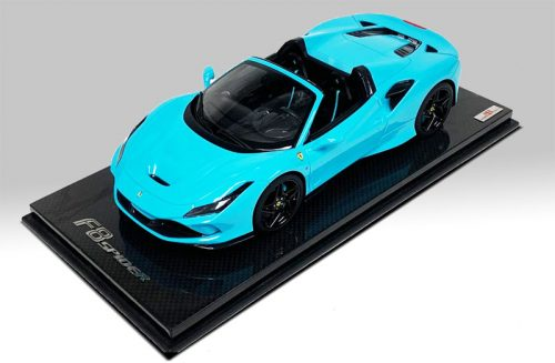 MR Collection 1:18 Ferrari F8 Tributo Spider Baby Blue