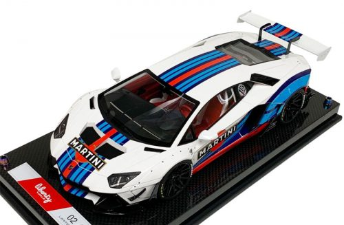 Lamborghini Aventador Liberty Walk Martini Edition